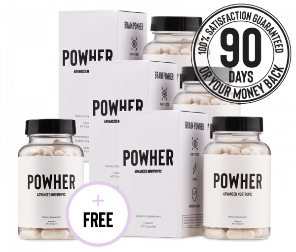 Powher Nootropic bundle pack